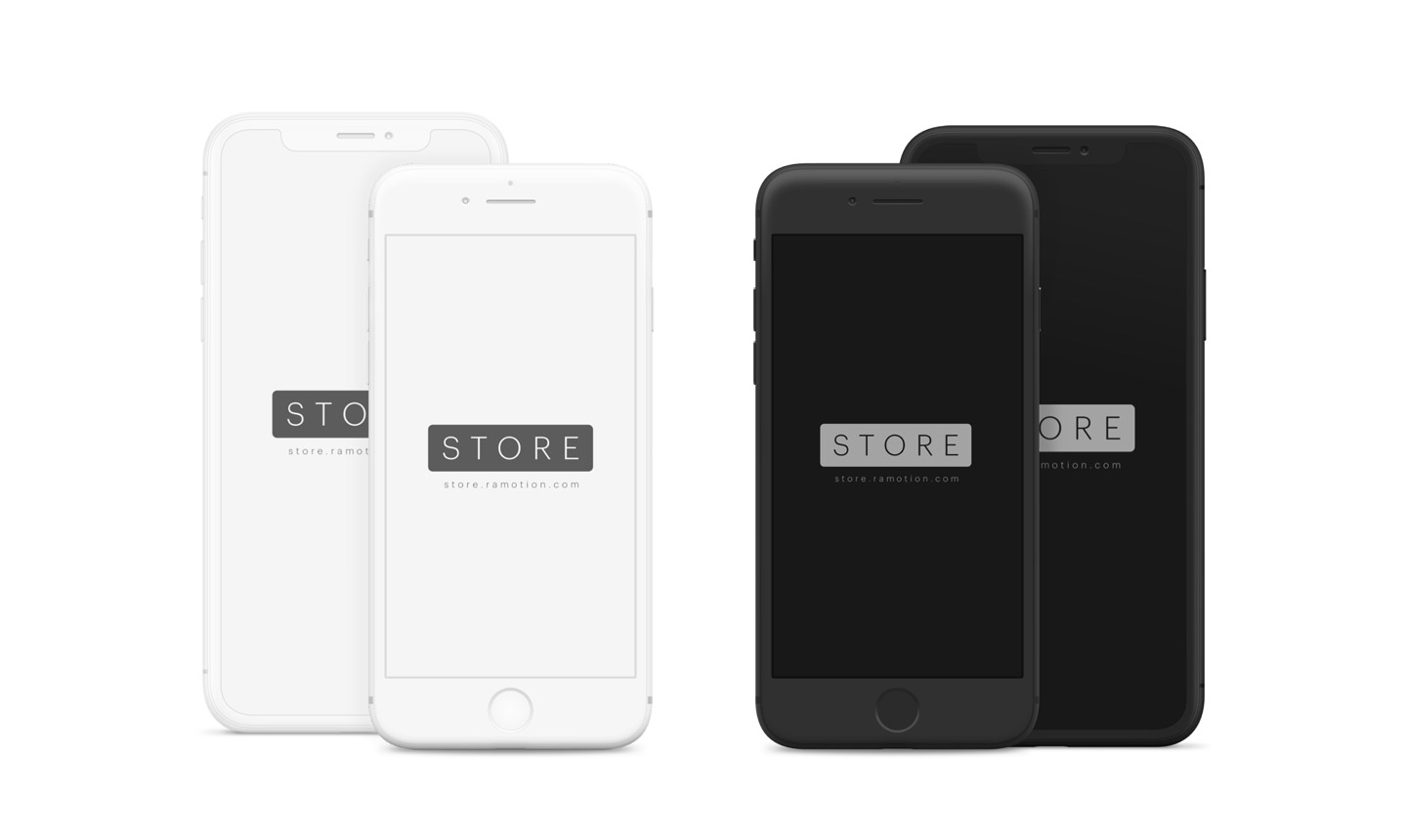 iphone-x-clay-white-black-frontal-psd