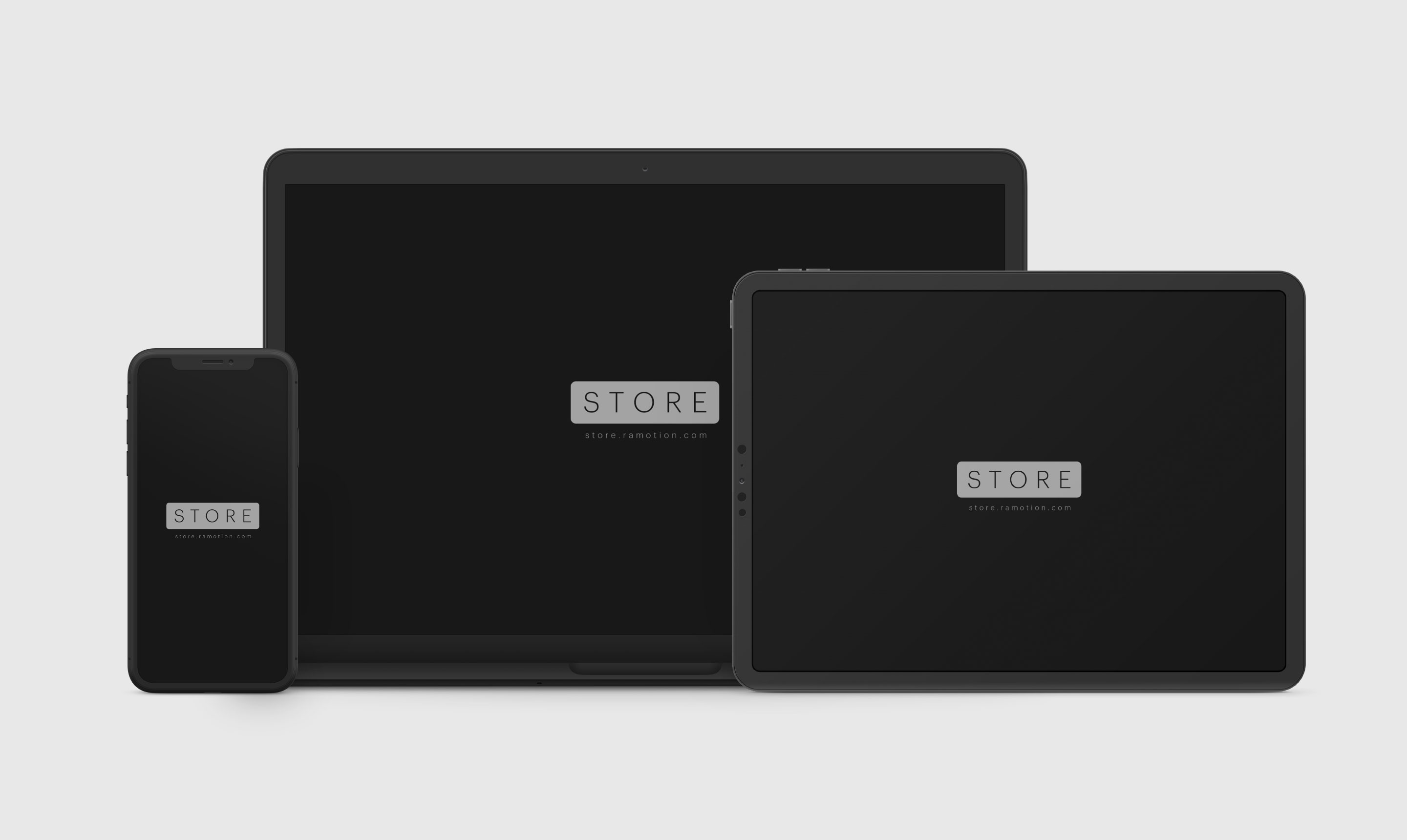 iPhone-Macbook-Frontal-iPad-Landscape-Clay-Black-Mockup-sketch