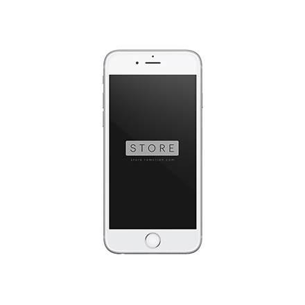 iphone 6 mockup frontal white