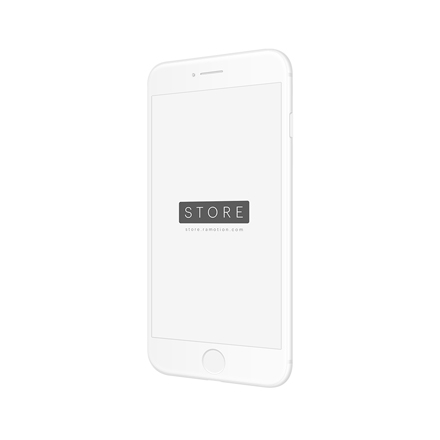 iphone 8 mockup portrait right white