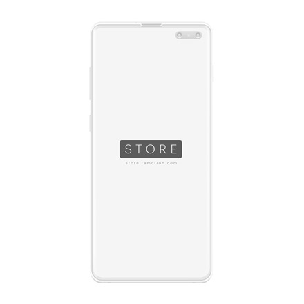 samsung galaxy s10 mockup clay white frontal